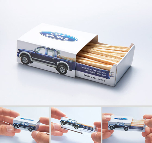 packaging creativo Ford