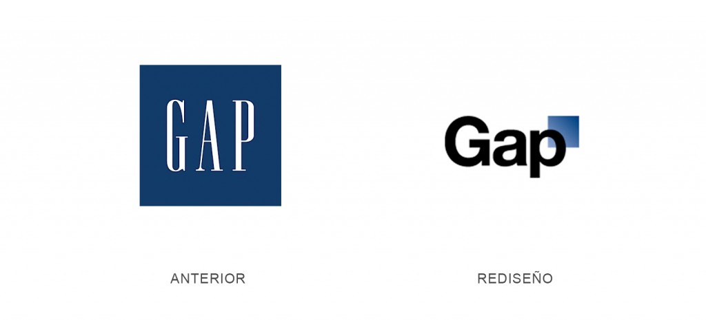Rediseño Logotipo Gap